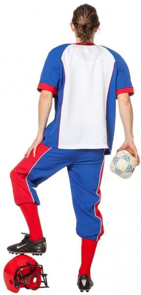Sportliches American Football Spieler Herrenkostüm