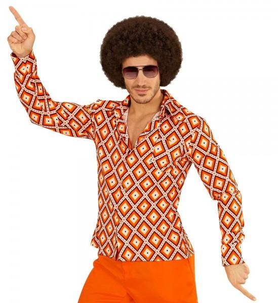 Koszula męska z lat 70