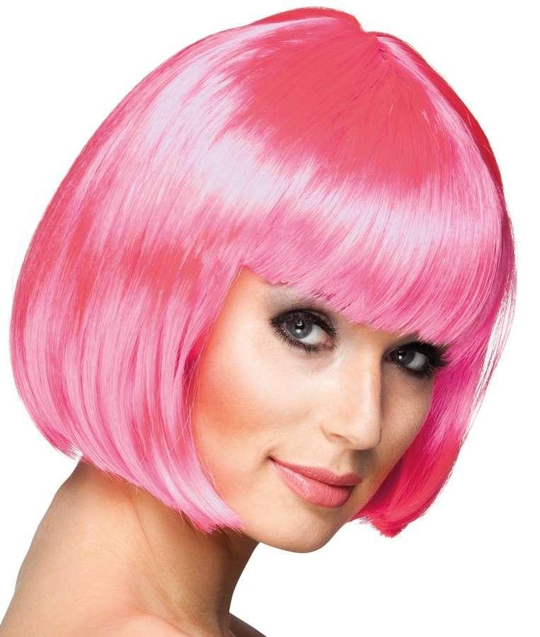 Pinke Perücke
