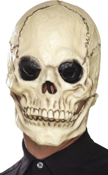 Bewegliche Kiefer Totenkopf Maske