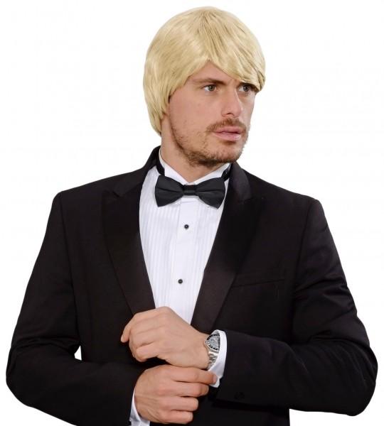 Blonde 70er Jahre Herrenperücke