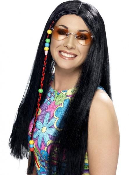 Perruque de mariée hippie