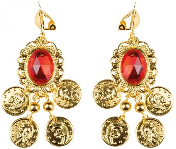 Orientalische Bauchtanz Ohrringe Zara