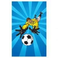 Fußball Mini-Notizblock