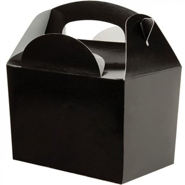 Confezione regalo per regali uni nero 15cm