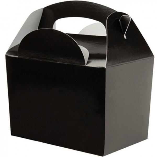 Geschenkverpakking uni zwart 15cm