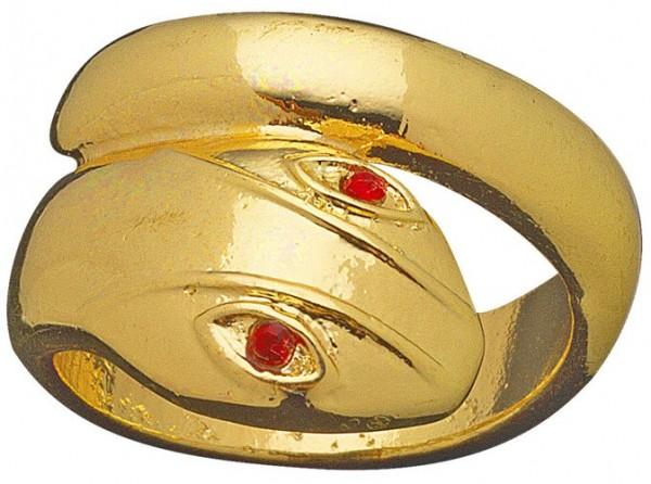 Jofratete Schlangen Ring In Gold