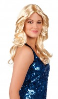Blonde Fashionista Langhaar Perücke