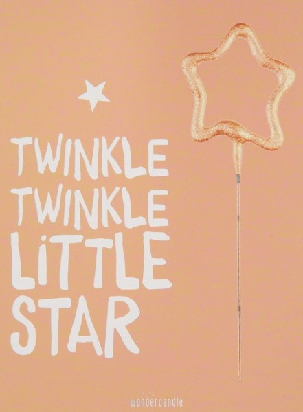 Twinkle Little Star Wondercard