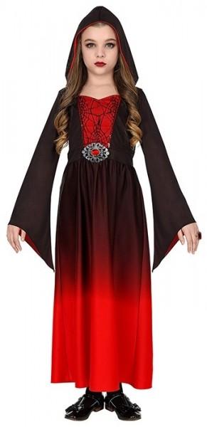 Abito gotico medievale Scarlett per ragazza