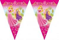 Prinzessinnen Traum Wimpelkette Flaggen Banner 300cm