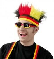 Freaky Deutschland Stirnband mit Haaren