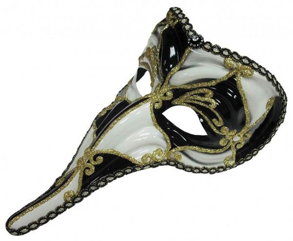 Maschera a becco veneziano di Scacchi
