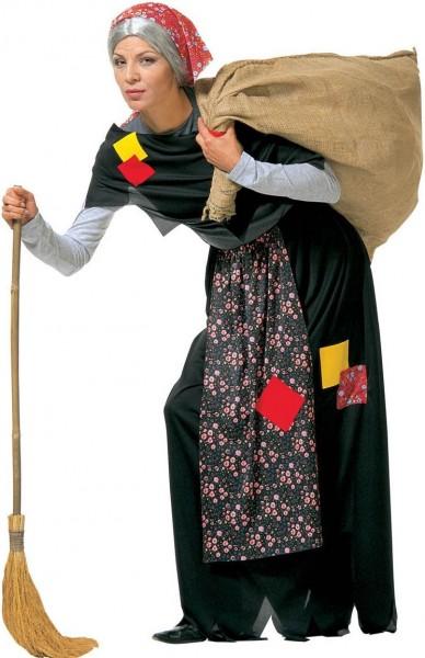 Disfraz de abuela abuela bruja