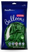 50 Partystar Luftballons tannengrün 30cm