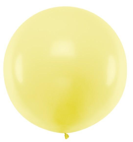XXL balloon party giant lemon glue 1m