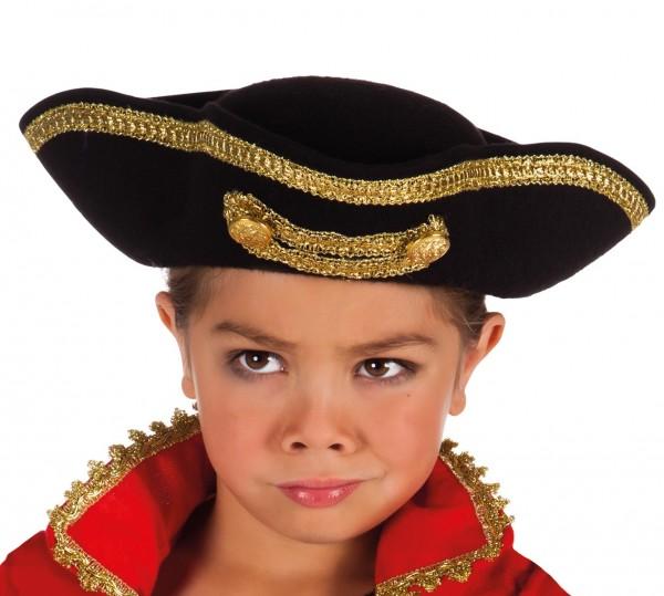 Klassischer Piratenhut Kinder