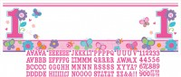 Sweet Birthday Girl Banner Rosa 160x50,8cm