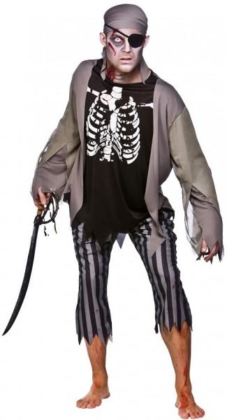 Untoter Pirat Zombiekostüm