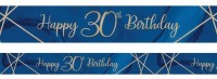 Luxurious 30th Birthday Banner 2,74m