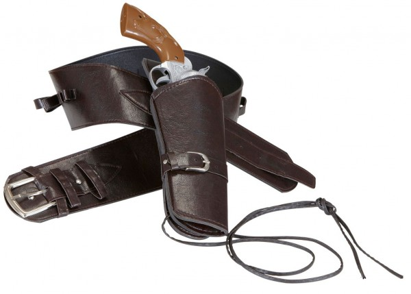 Pistols Cowboy Holder Faux Leather