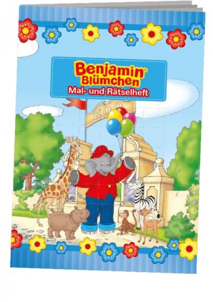 Benjamin Blümchen Mal- und Rätselheft
