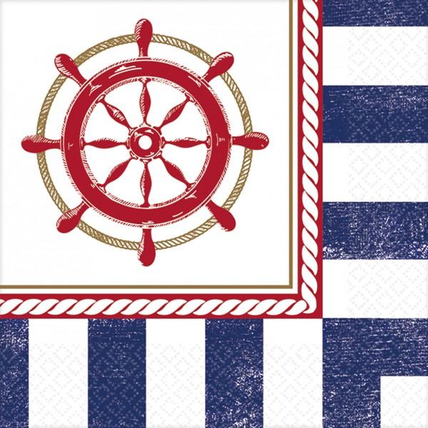 16 Maritime Sommer Servietten 25cm