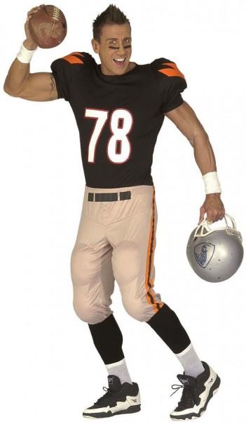 Amerikaans voetbalspeler kostuum