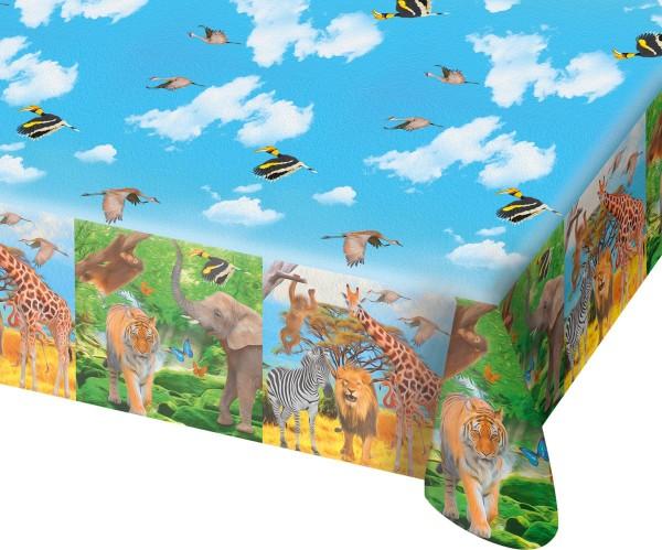 Safari & Dschungel Tischdecke 1.8 x 1.3m