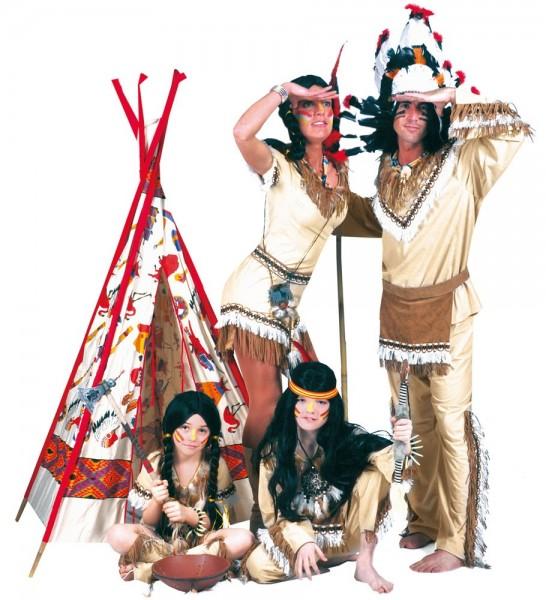 Steppender Bär Indianer Herrenkostüm