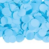 Papier-Konfetti in Babyblau 100g