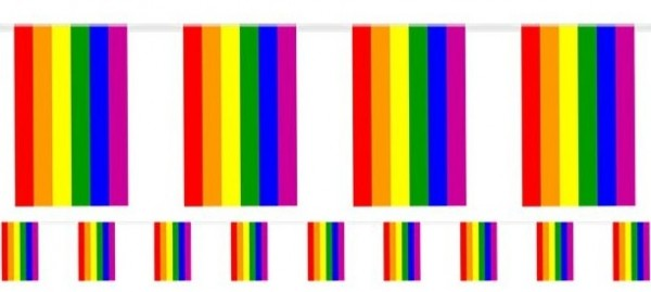 CSD Pride Wimpelkette 7m