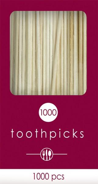 1000 cure-dents buffet 6,6 cm