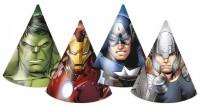 6 Avengers Superhelden Partyhüte
