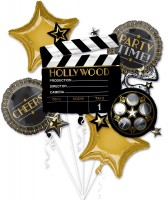5 Hollywood Folienballon Film ab