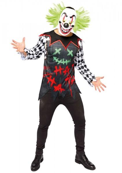 Lachender Horror Clown Herrenkostüm