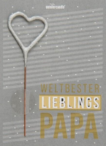 Weltbester Lieblingspapa Wondercard