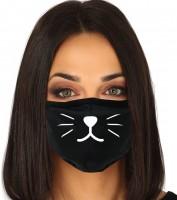 Mund Nasen Maske Katze