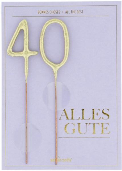 40 Alles Gute Wondercard