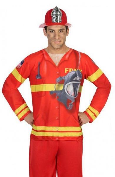 Brave 3D Firefighter heren shirt