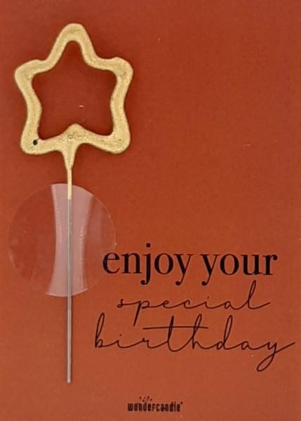 Goditi il tuo compleanno speciale Wondercard
