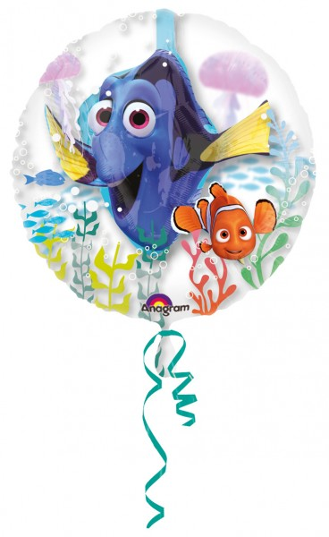Folienballon Dorie & Nemo back home