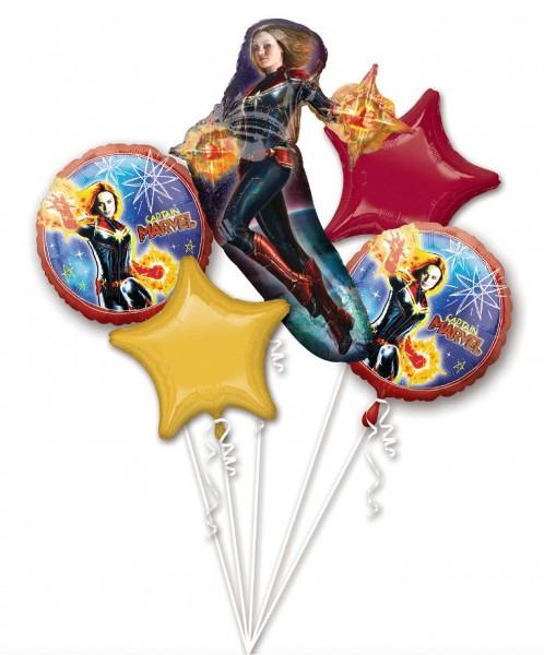 Captain Marvel Ballon Bouquet