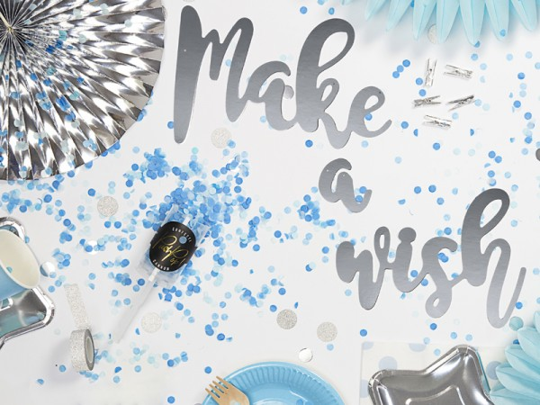 Confetti cannone partylover blu