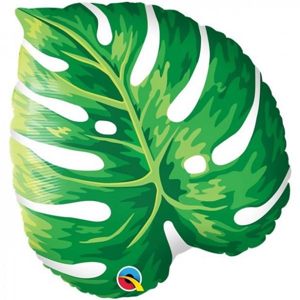 Palm leaf tropical foil balloon 53cm