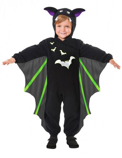 Disfraz infantil de murciélago clásico