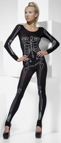 Women's body suit sexy skeleton Stella