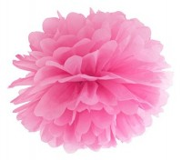 Pompon Romy pink 25cm