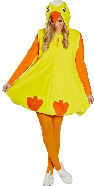 Gelbes Glücks Küken Kostüm