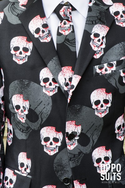 OppoSuits party suit Skulleton